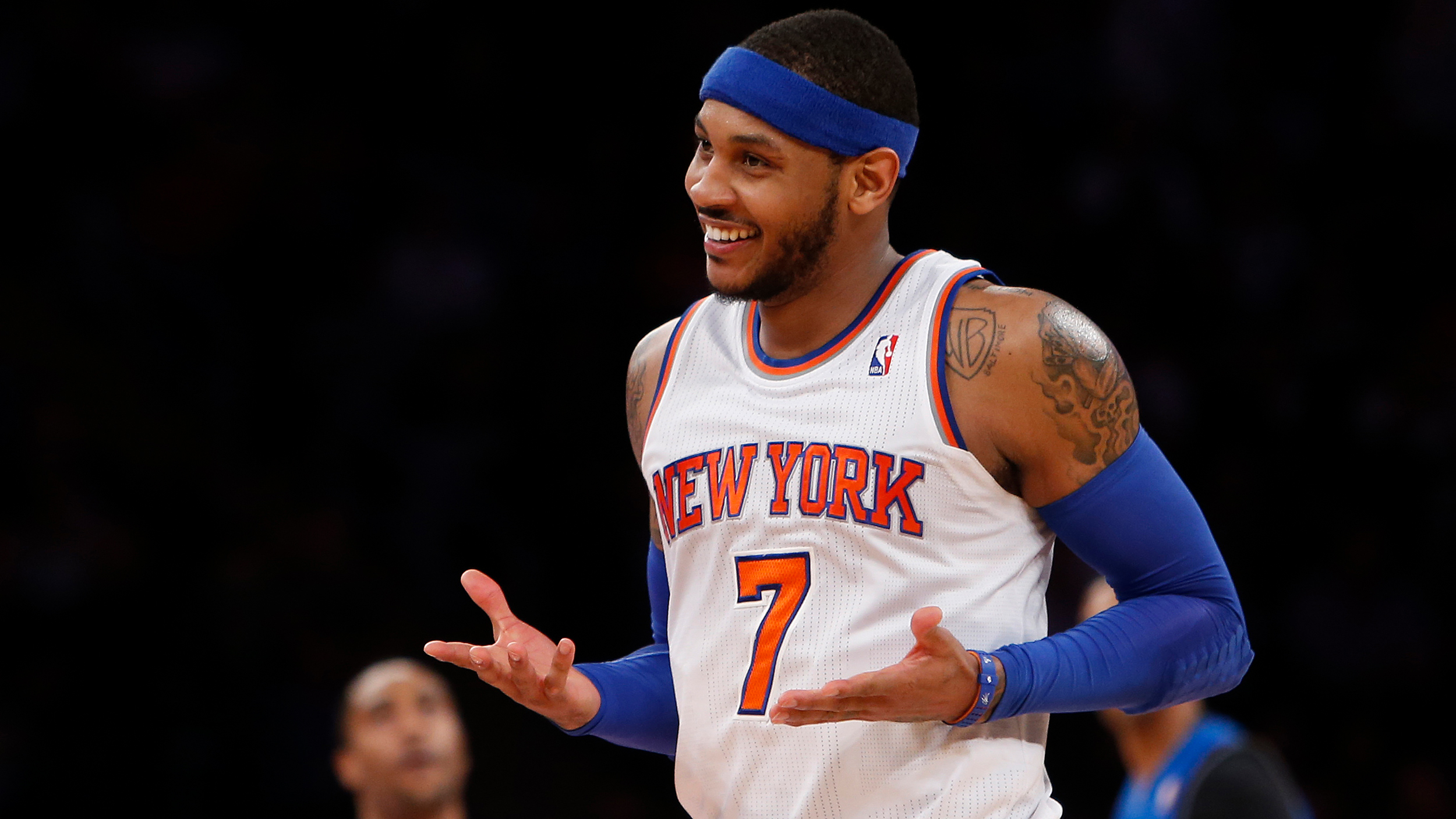 wholesale dealer 0649c 110c0 Carmelo Anthony trade  The teams that should try to grab the Knicks forward  and why
