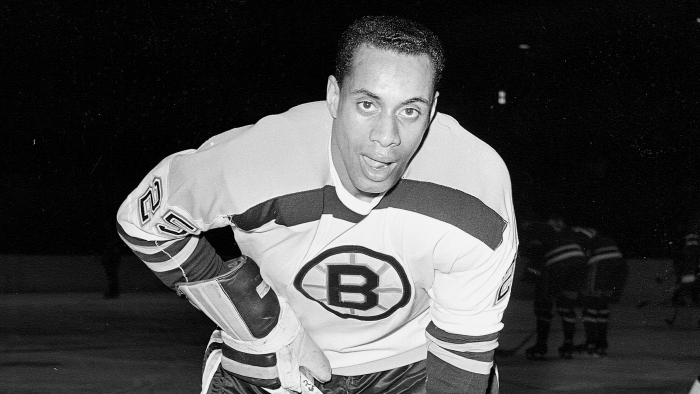 2441acad8 The NHL s first black player