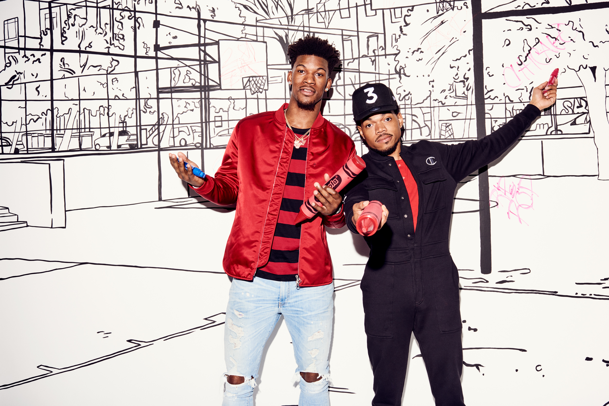 2646cf2877eb No Labels  Chance the Rapper and Jimmy Butler
