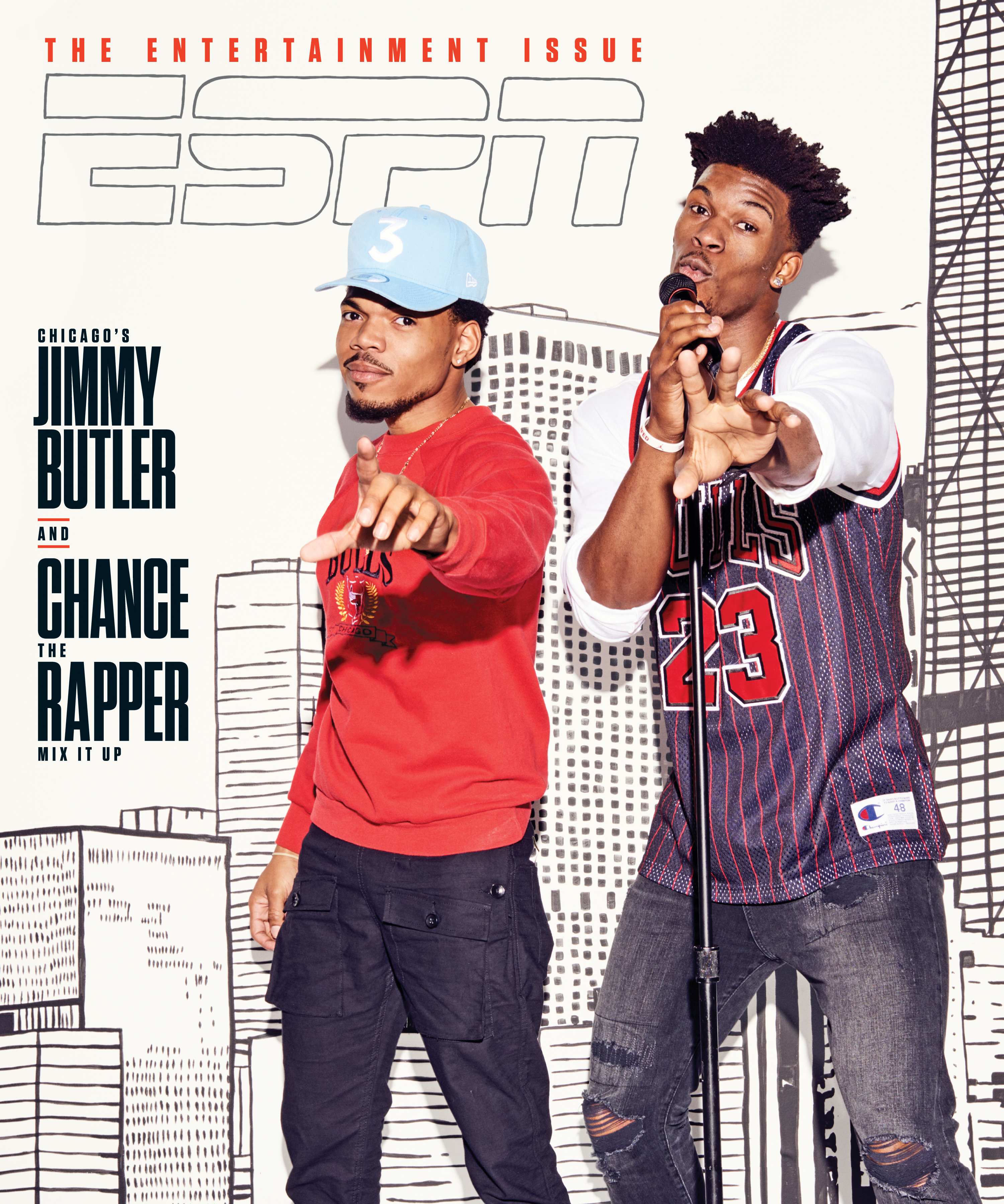 Jimmy Butler Chance the Rapper cover
