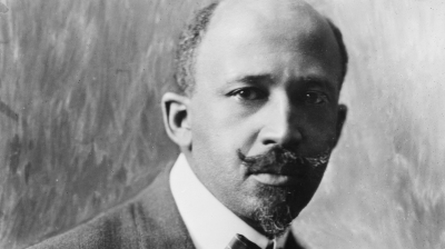 William Edward Dubois (1868-1963) African American scholar, writer and civil rights activist.