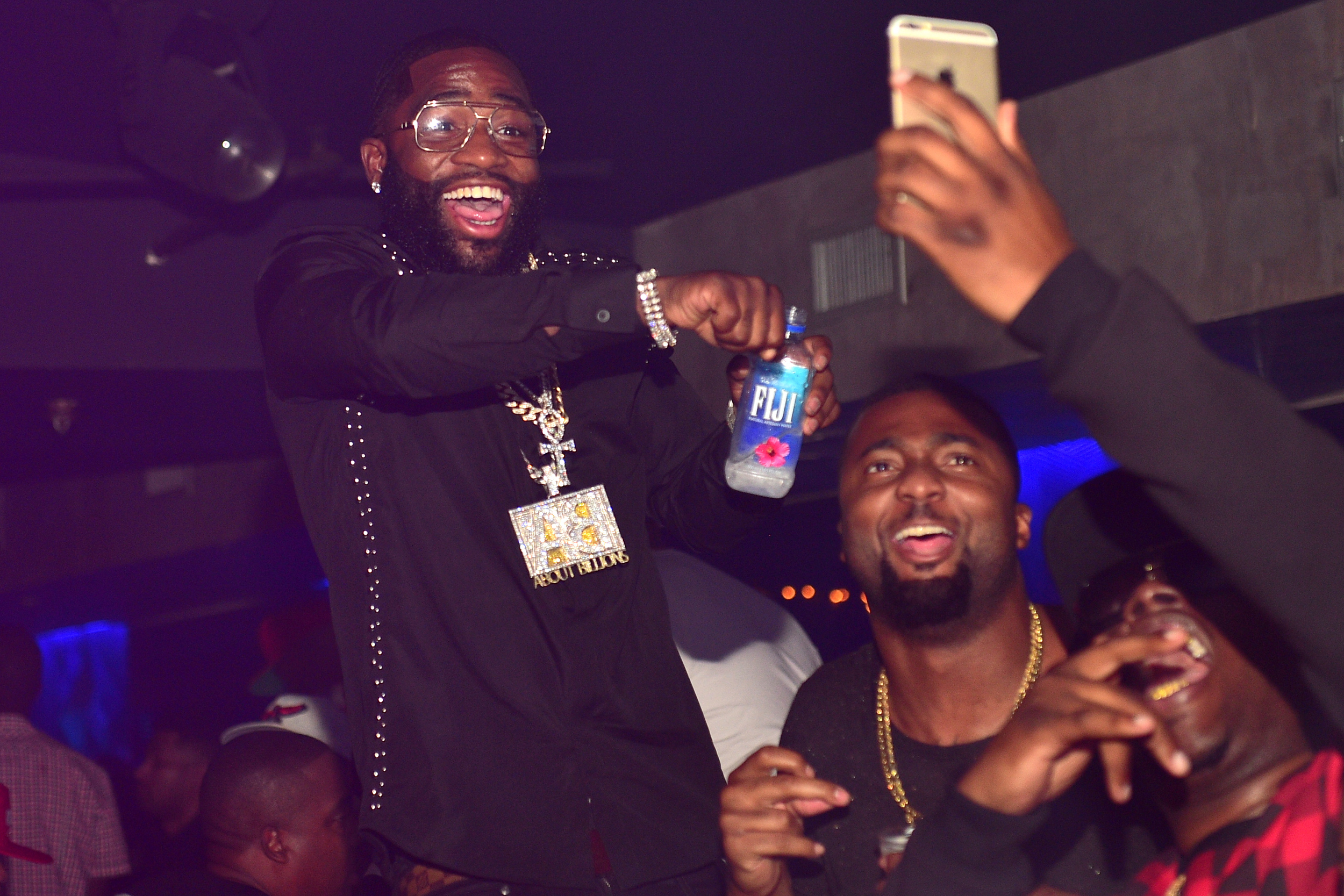 Adrien Broner attends BET Hip Hop Awards AfterParty at Prive on October 9, 2015 in Atlanta, Georgia.