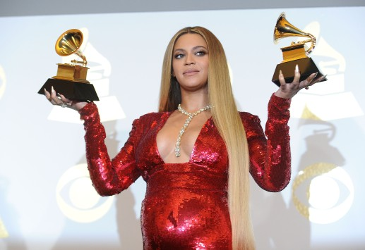 59th GRAMMY Awards – Press Room