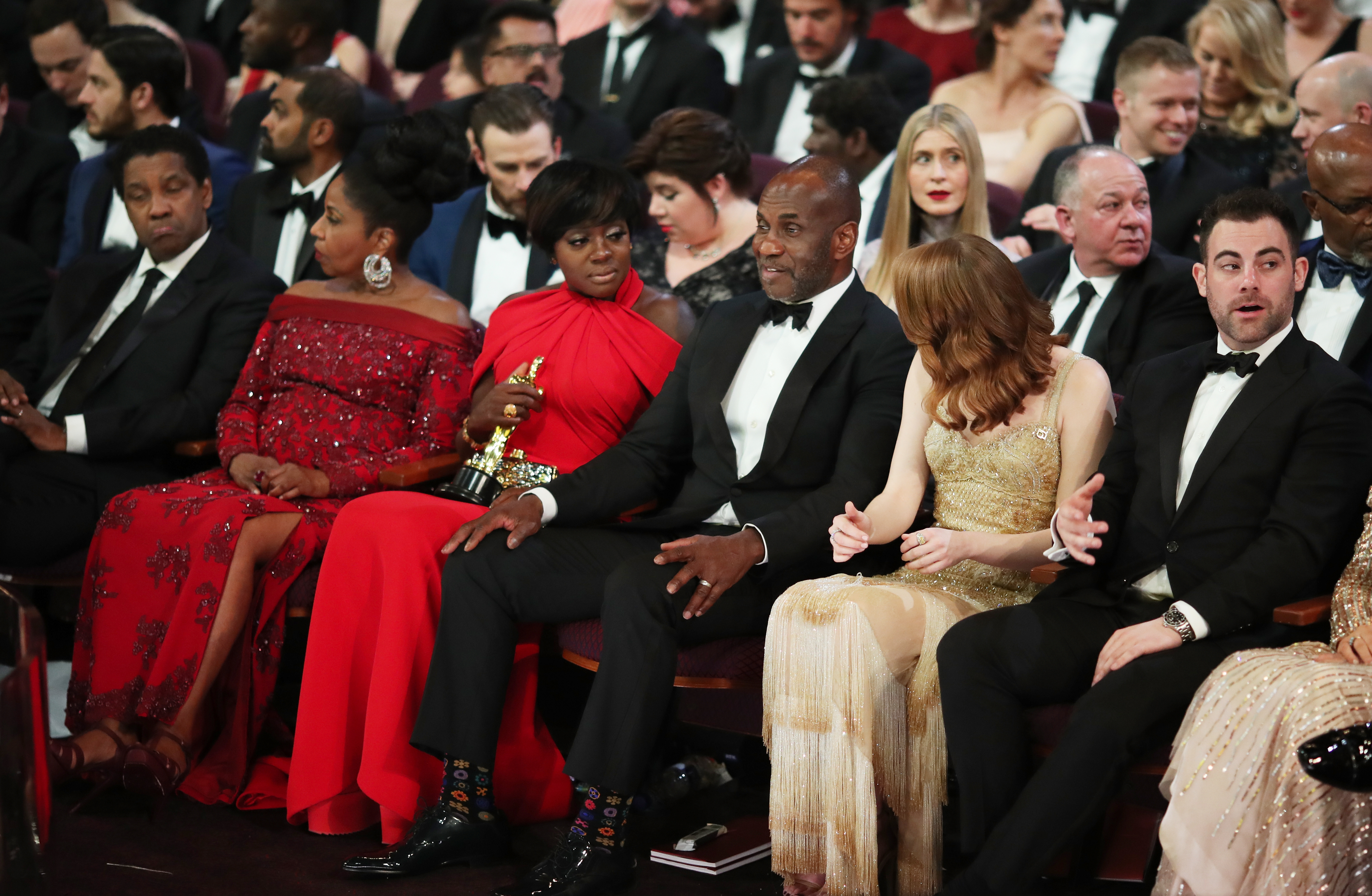 Backstage at the Academy Awards — The Undefeated