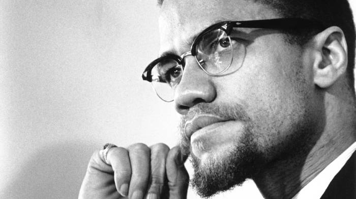 Black And White Pictures Of Malcolm X