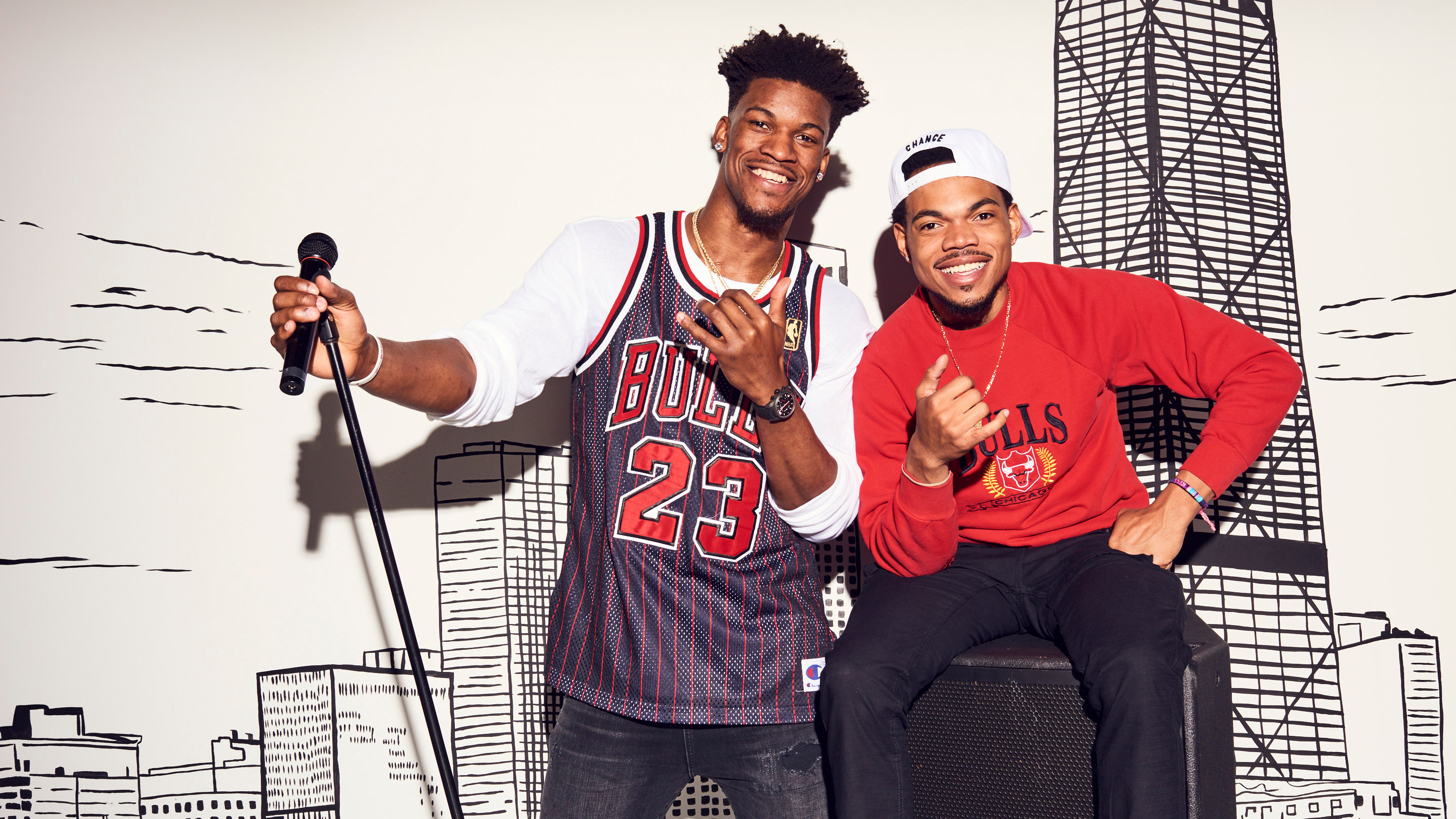 Chance the Rapper & Jimmy Butler