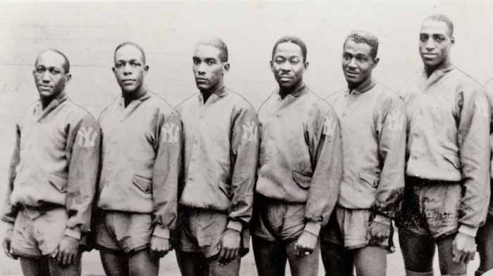 621841ae50a2 When the first all-black professional basketball team dominated … back in  the  20s