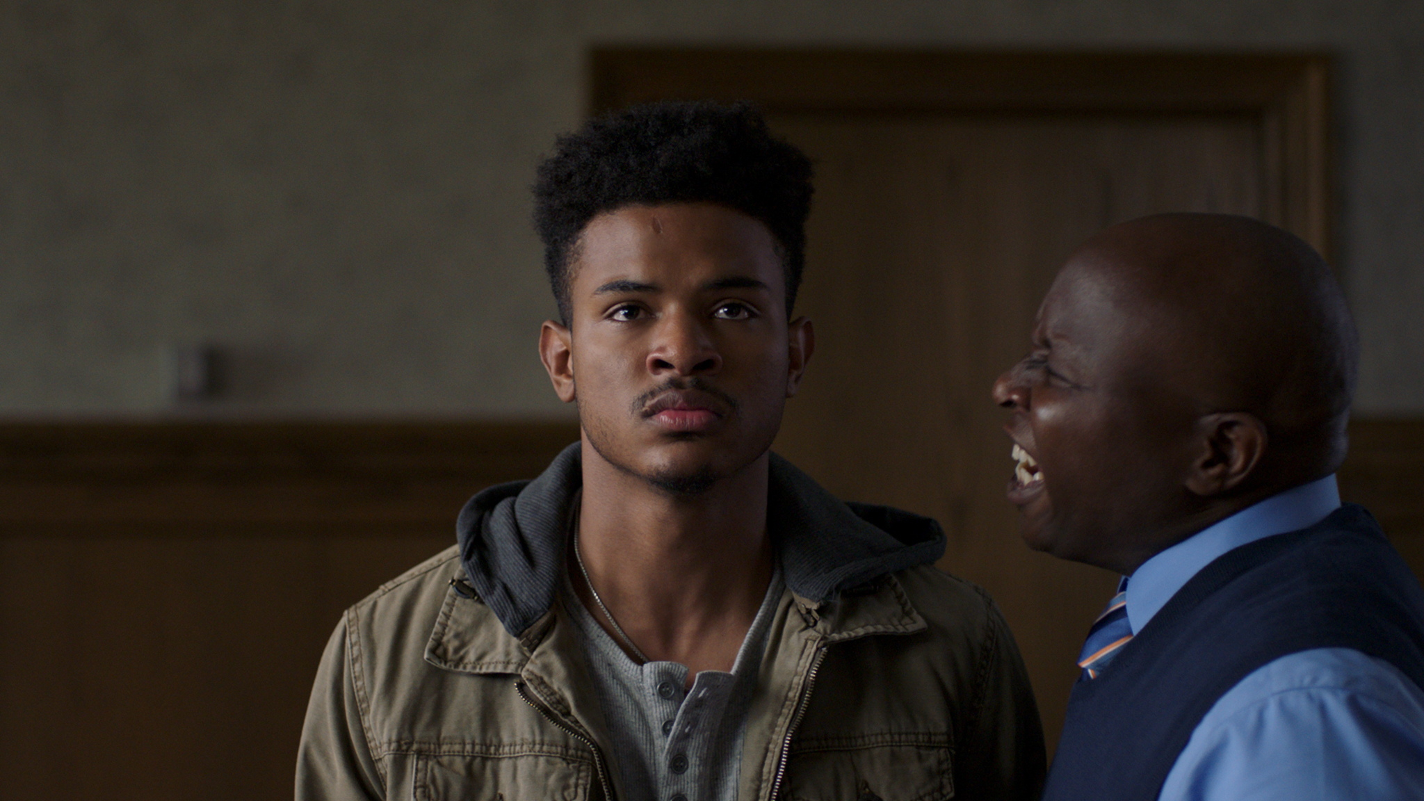 Trevor Jackson, Steve Harris in Burning Sands