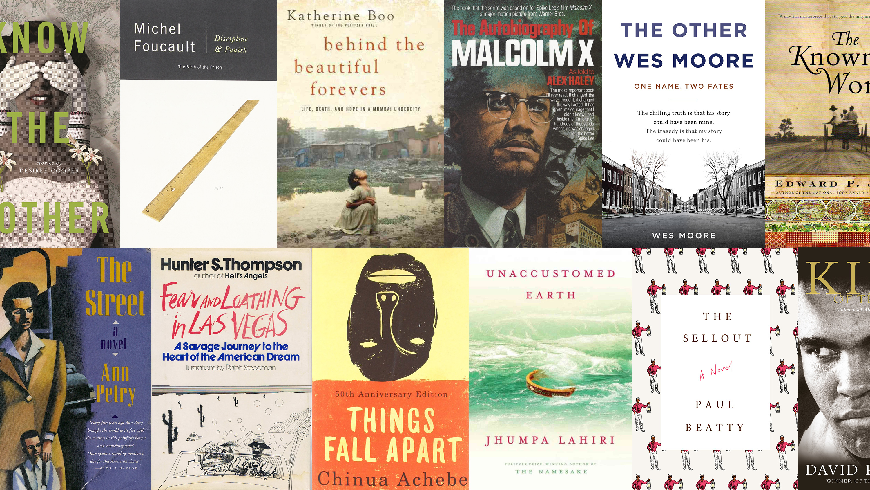 It's crazy out here! 25 books to save your life, right now