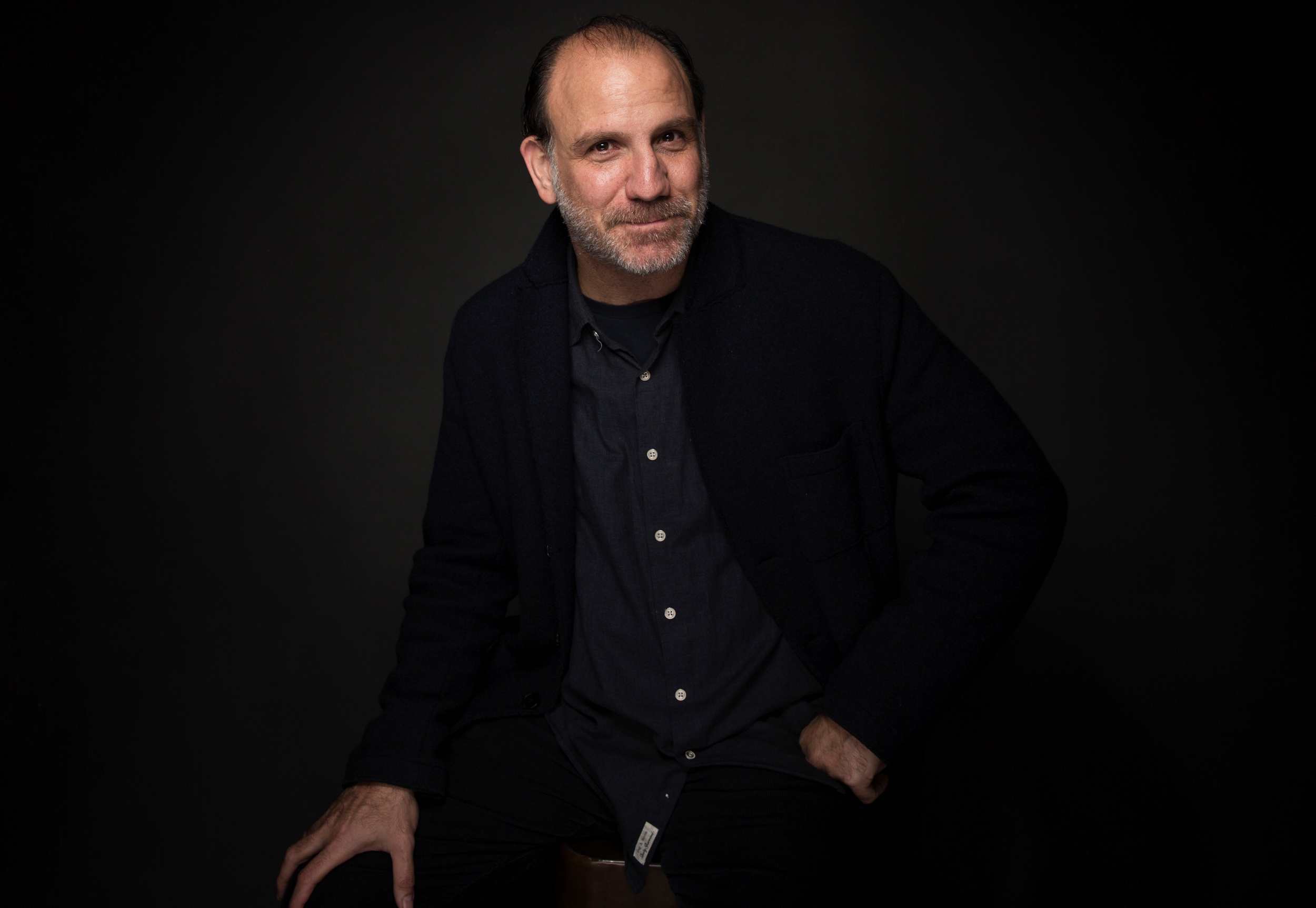 "Actor Nick Sandow poses for a portrait to promote the series, ""TIME: The Kalief Browder Story"", at the Music Lodge during the Sundance Film Festival on Monday, Jan. 23, 2017, in Park City, Utah."