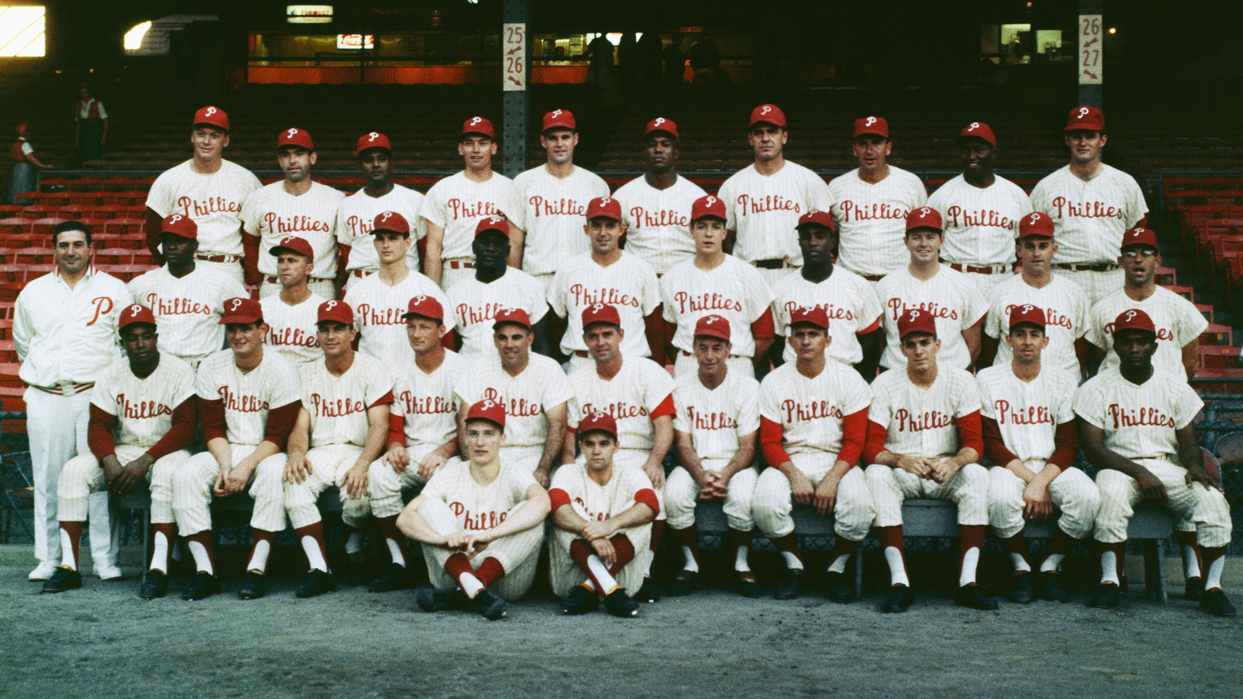 Portrait of Phillies World Series Team