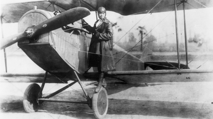 Photo of Bessie Coleman