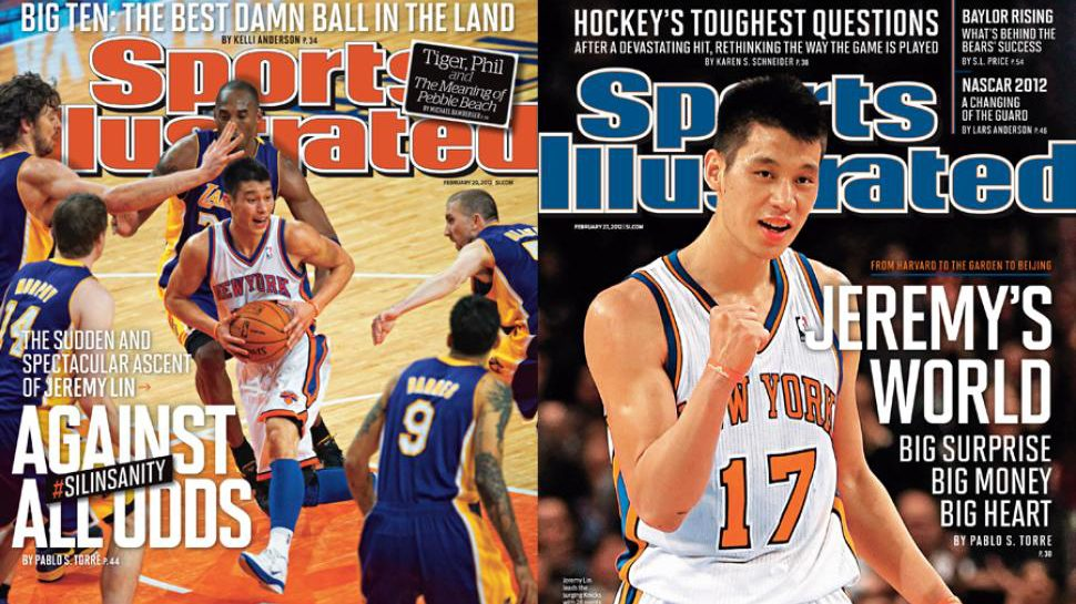 A Look Back At Jeremy Lin S Back To Back Sports Illustrated Covers