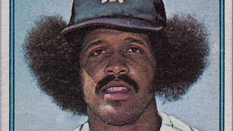 The Story Behind Oscar Gambles 1976 Baseball Card And That Hall Of