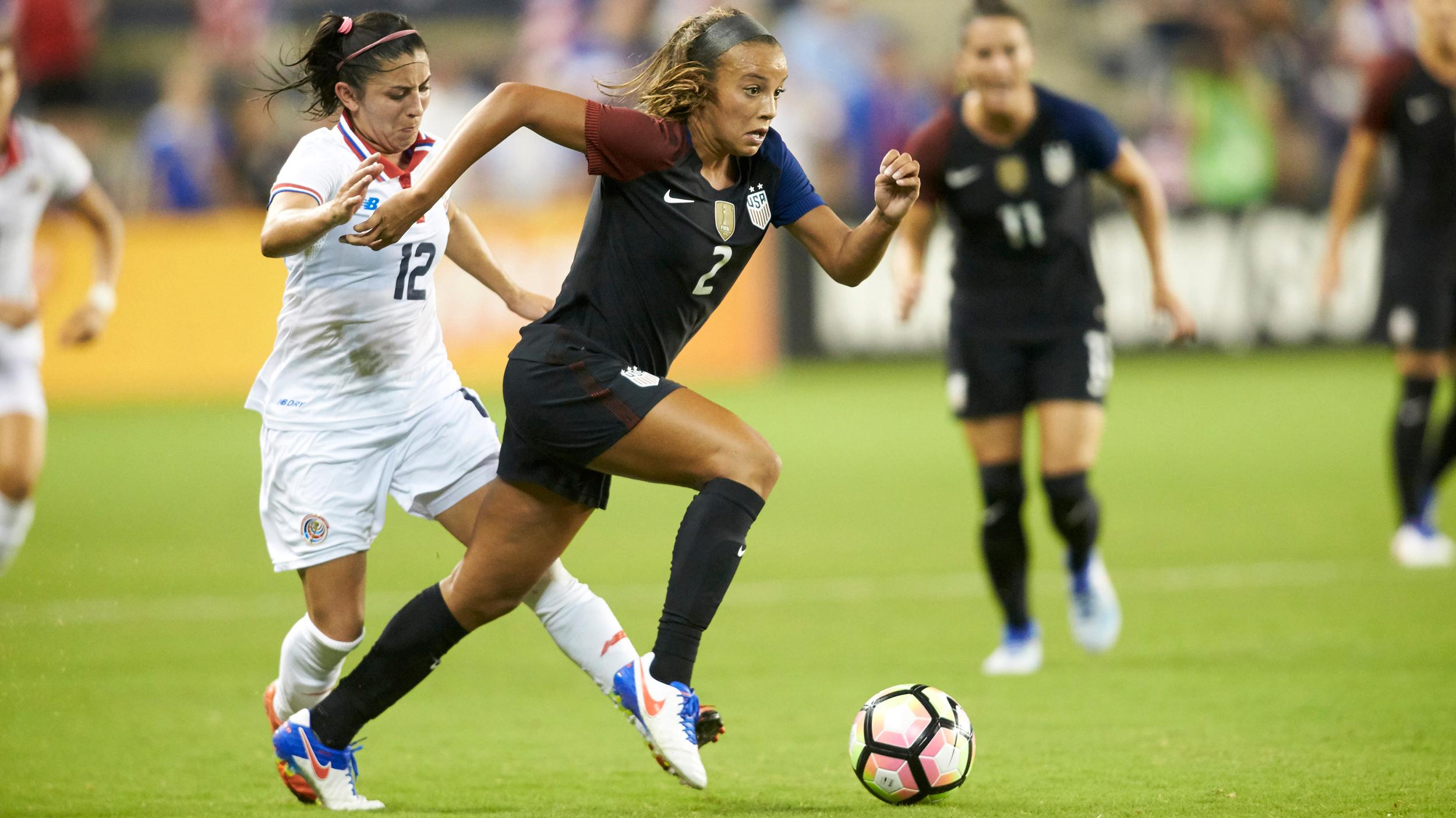 Soccer: International Friendly Women's Soccer-Costa Rica at USA