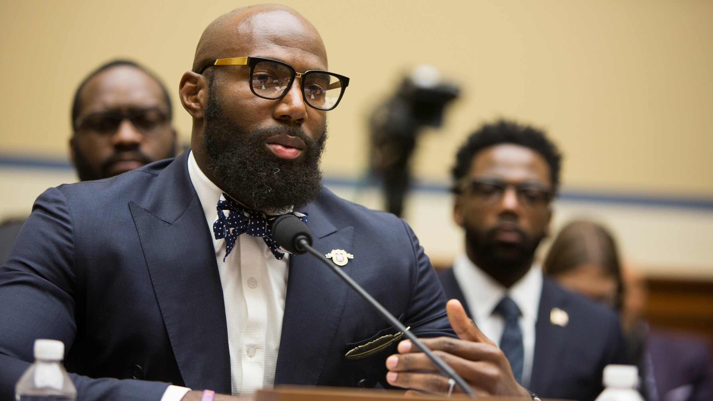 NFL Players Speak Up: First Hand Experiences and Buiding Trust Between Communites and Police