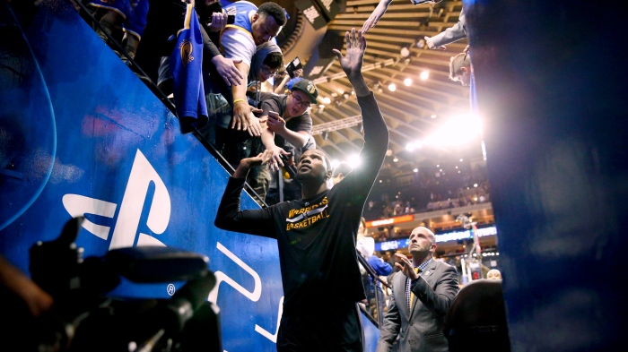 fd0d60dccda3 Kevin Durant is the real VIP in return to Warriors  lineup