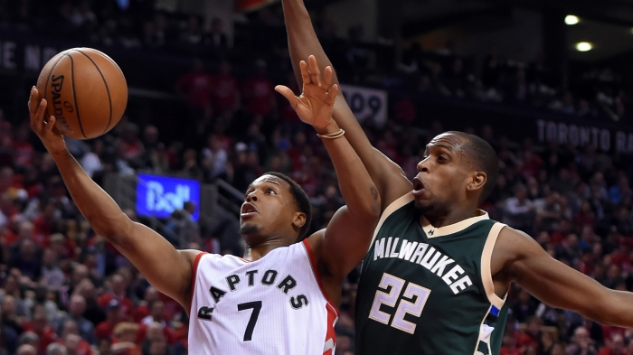 NBA: Playoffs-Milwaukee Bucks at Toronto Raptors