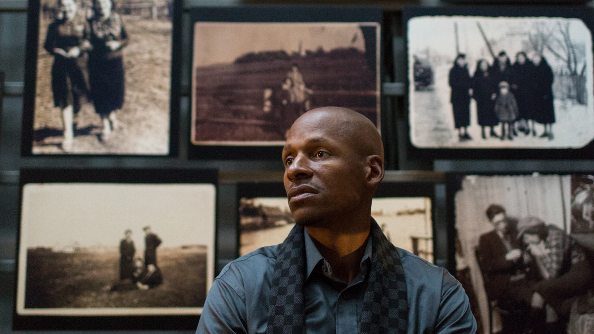 Ray Allen talks about his passion for teaching others about the Holocaust