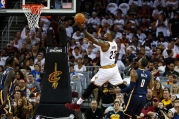 BESTPIX Indiana Pacers v Cleveland Cavaliers – Game One