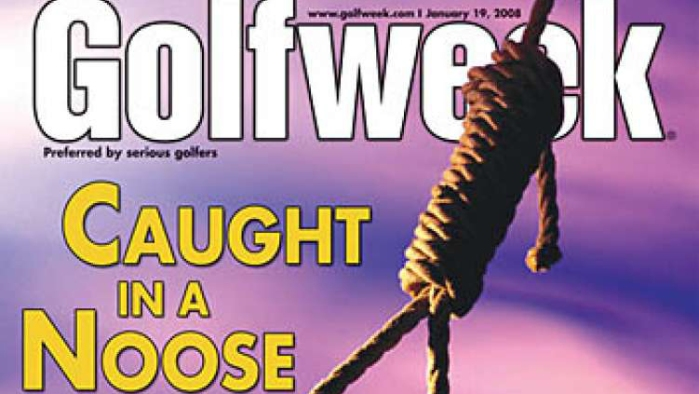 Tiger Woods' 'Golfweek' noose cover, the lynching comment that led