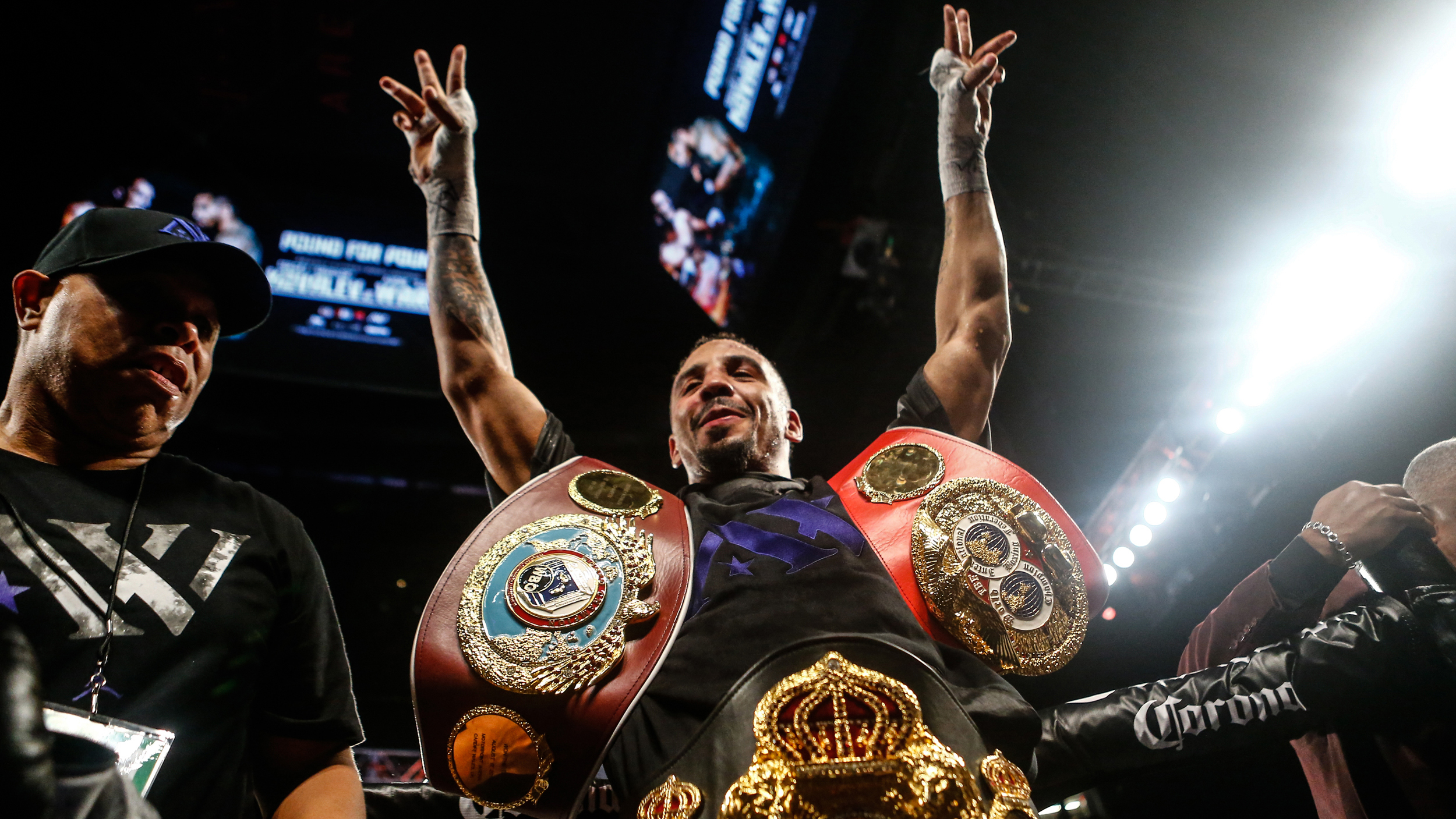 Andre Ward vs. Sergei Kovalev WBA/WBO/IBF light heavyweight championship