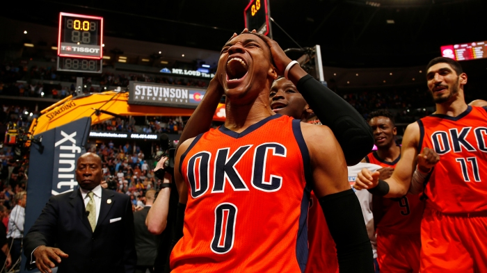 c37737110 Oscar Robertson is NOT hating that Westbrook broke his triple-double record