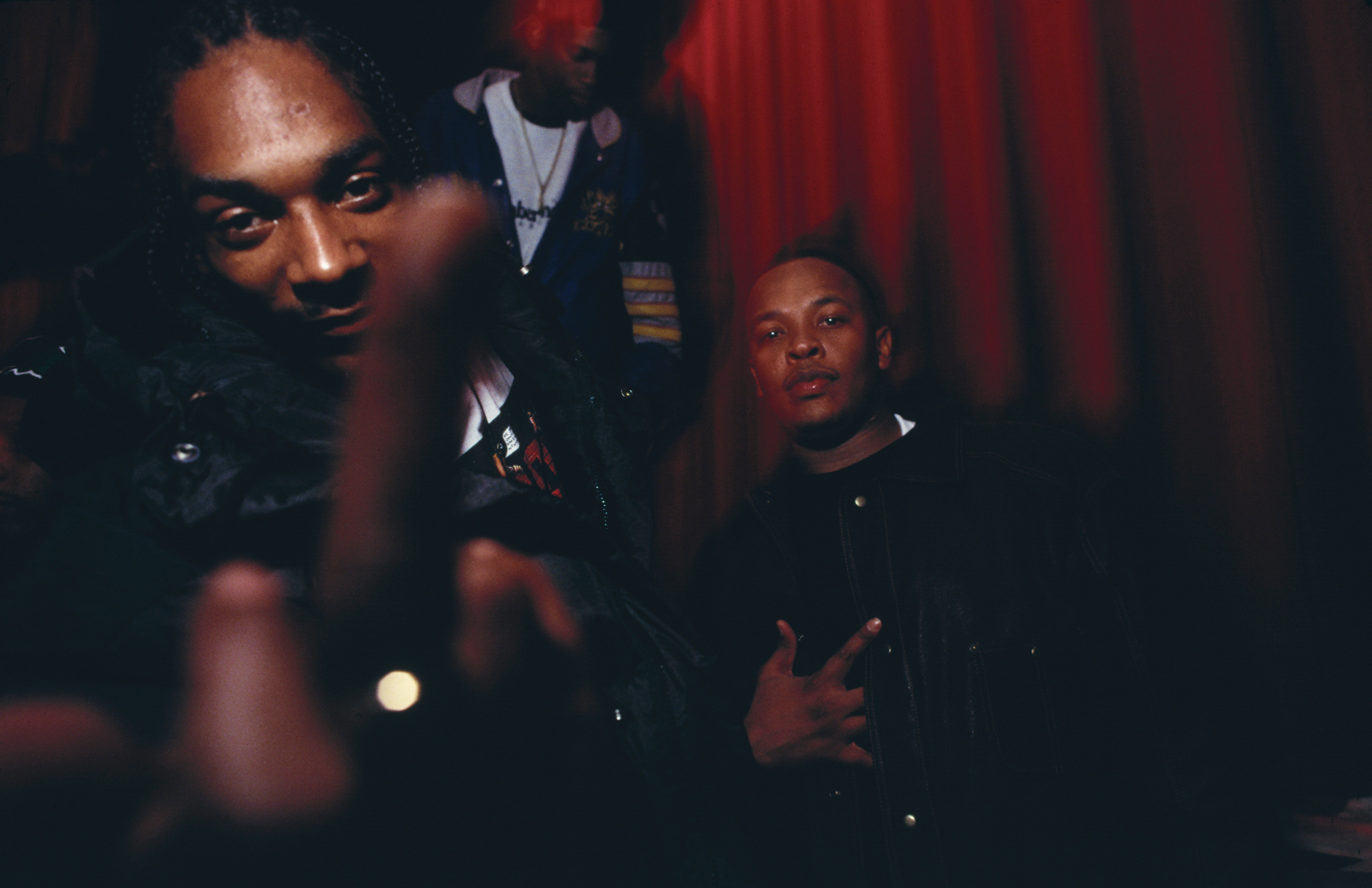 party given by interscopedeath row records for snoop doggy dogg record murder was the case