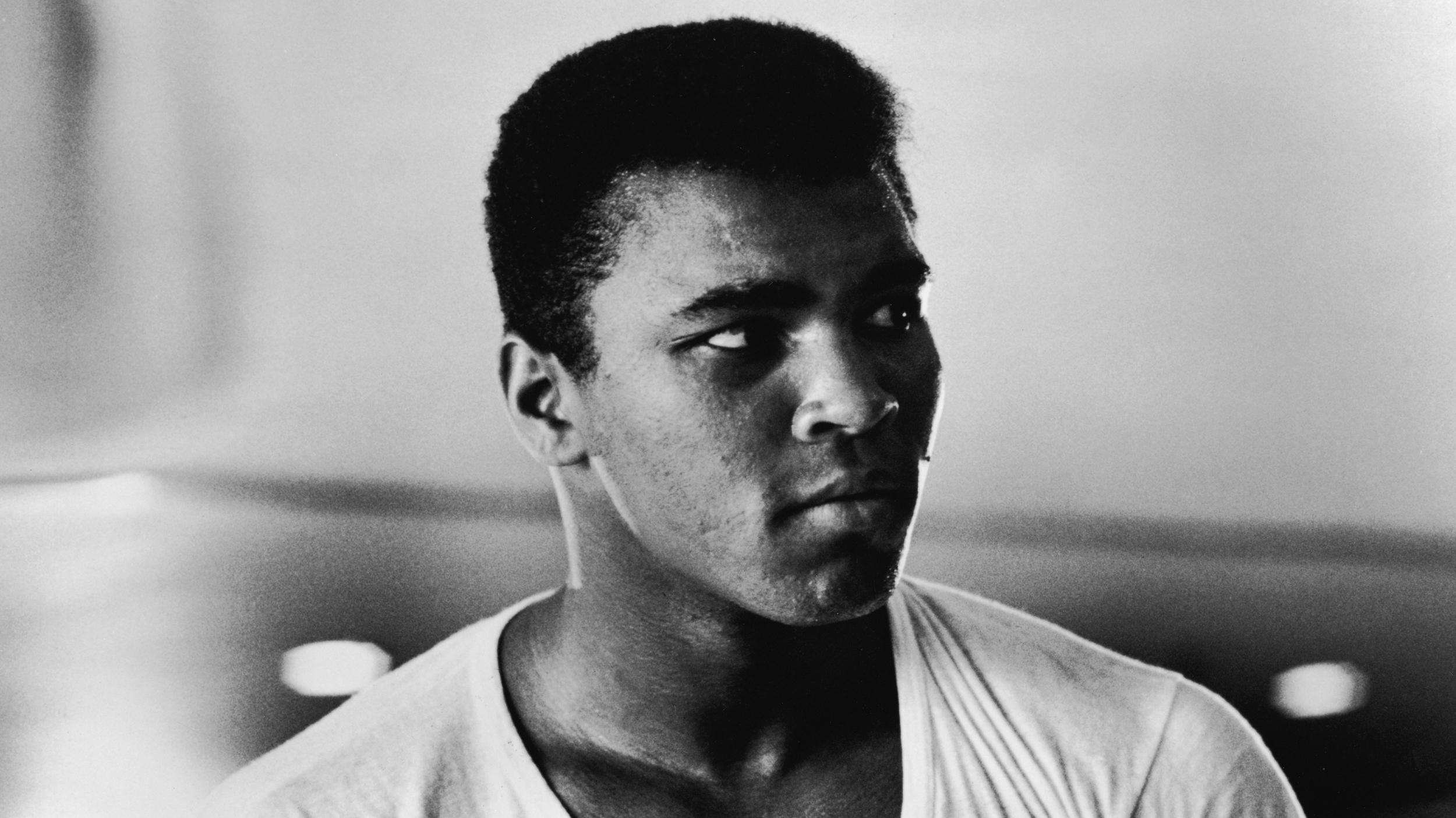 Portrait Of Muhammad Ali