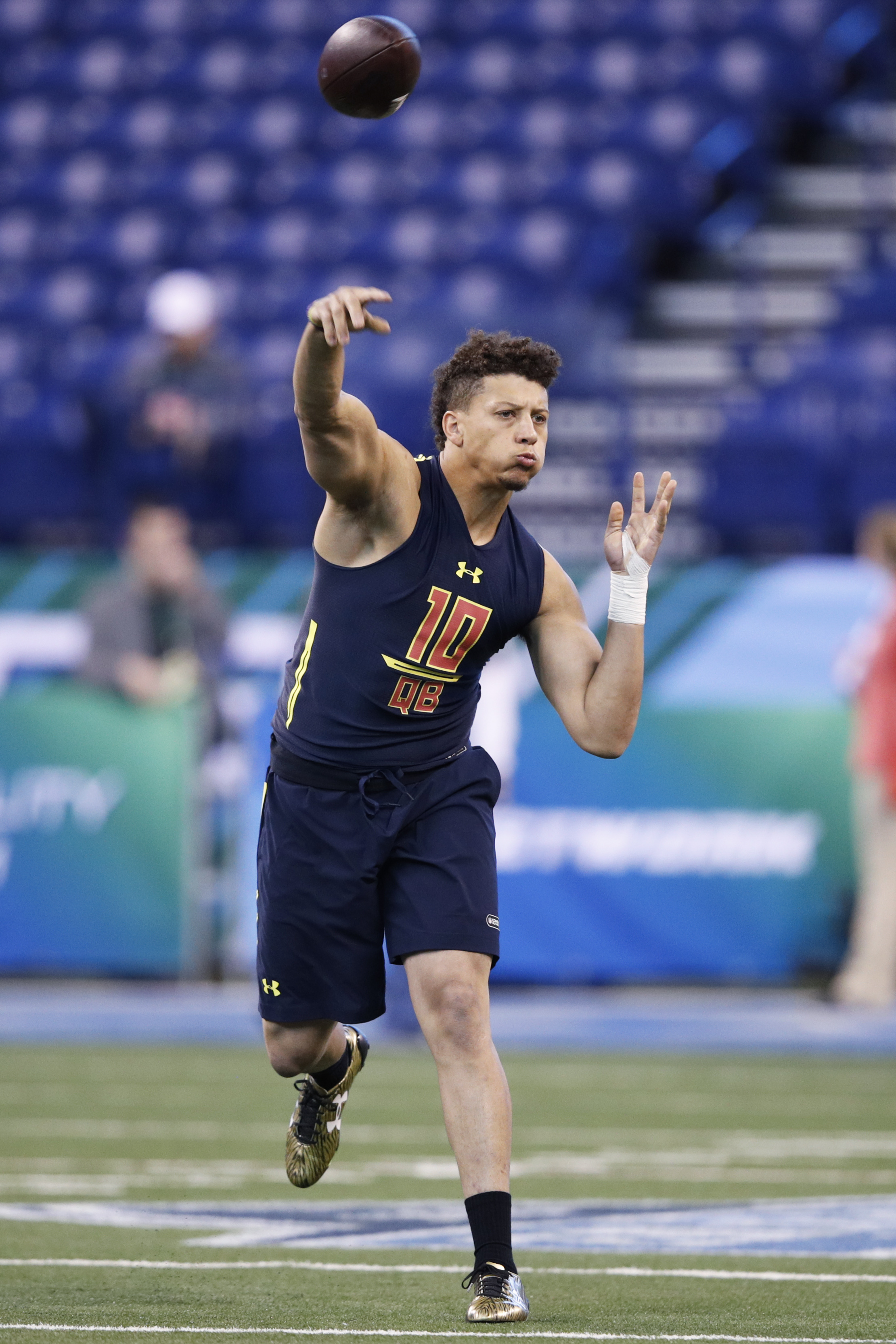 Kansas City Chiefs Trade Up To Draft Texas Tech Quarterback