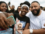 Champs Sports x DJ Khaled Game On Air Event In Atlanta