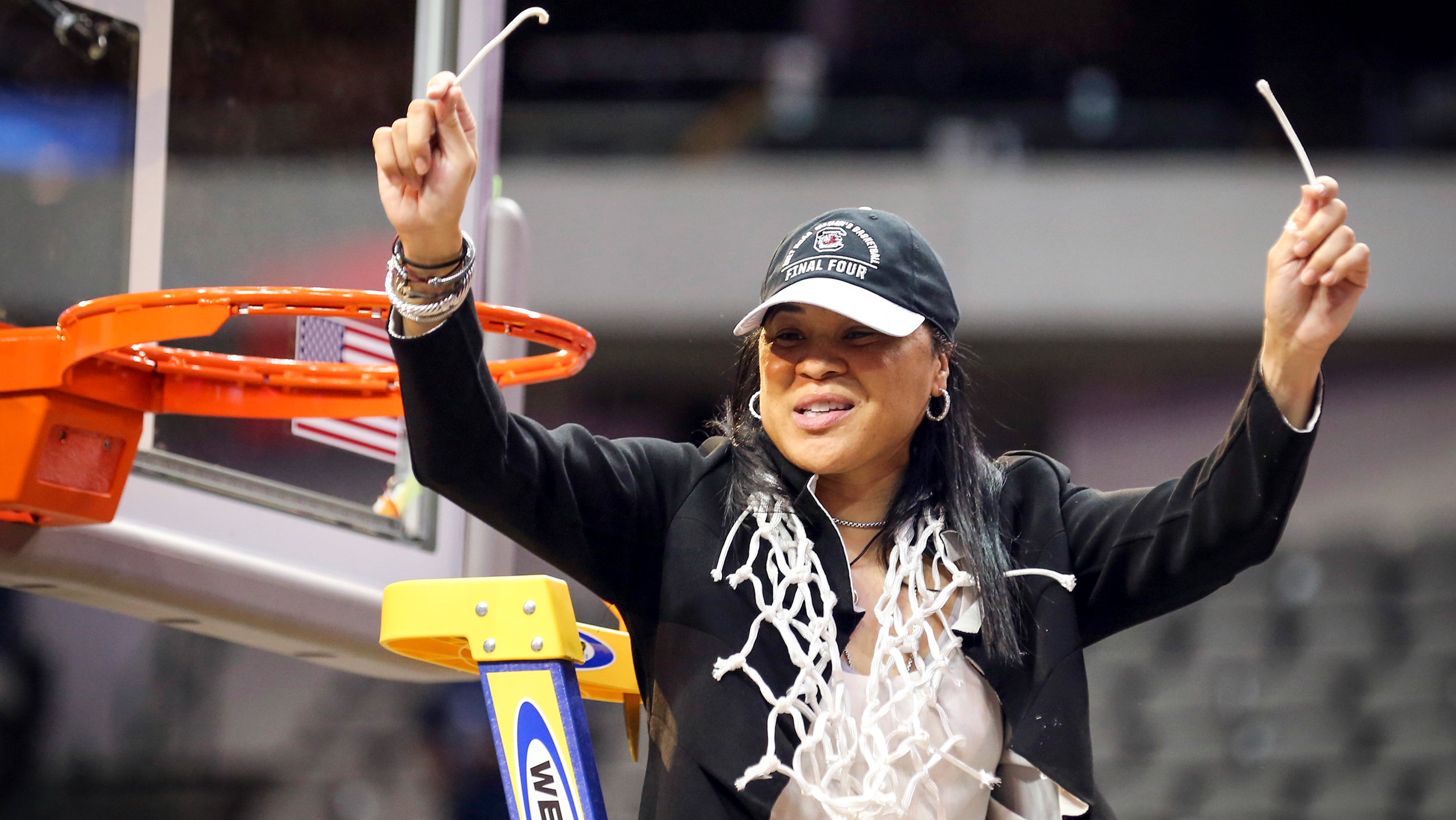 Carolyn Peck elated for Dawn Staley as second black coach ...