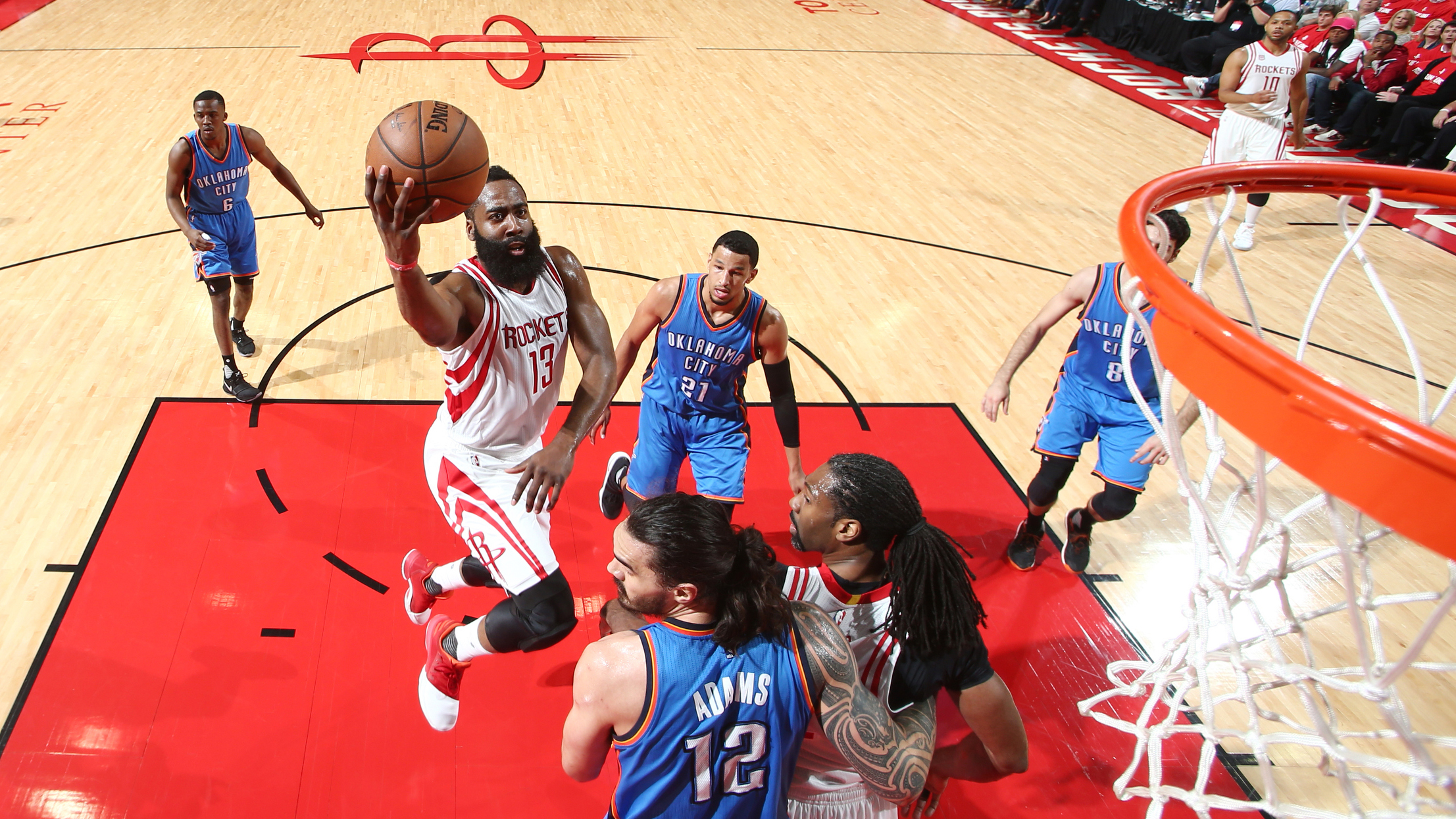 Oklahoma City Thunder v Houston Rockets – Game Two