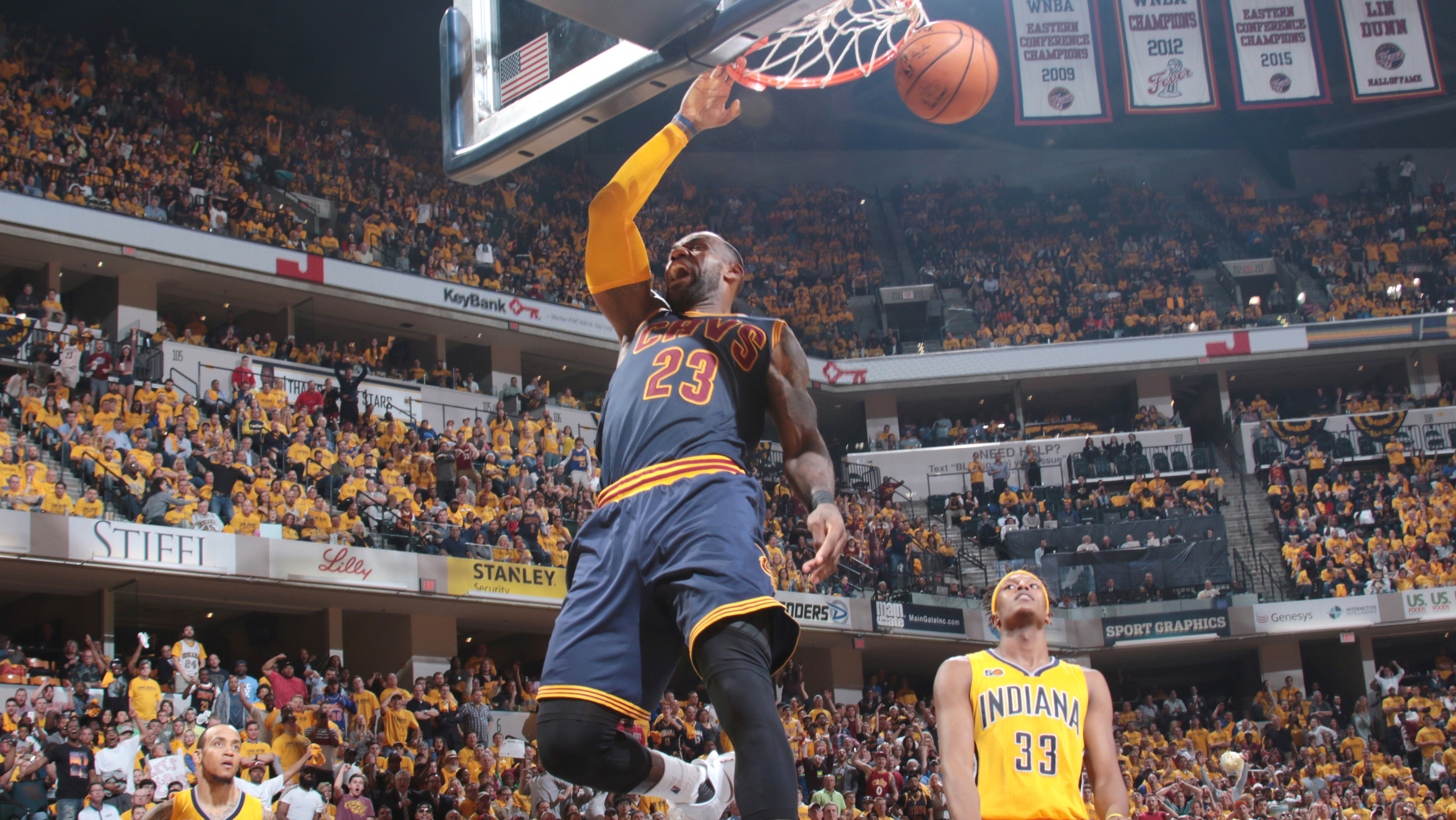 Cleveland Cavaliers v Indiana Pacers – Game Three