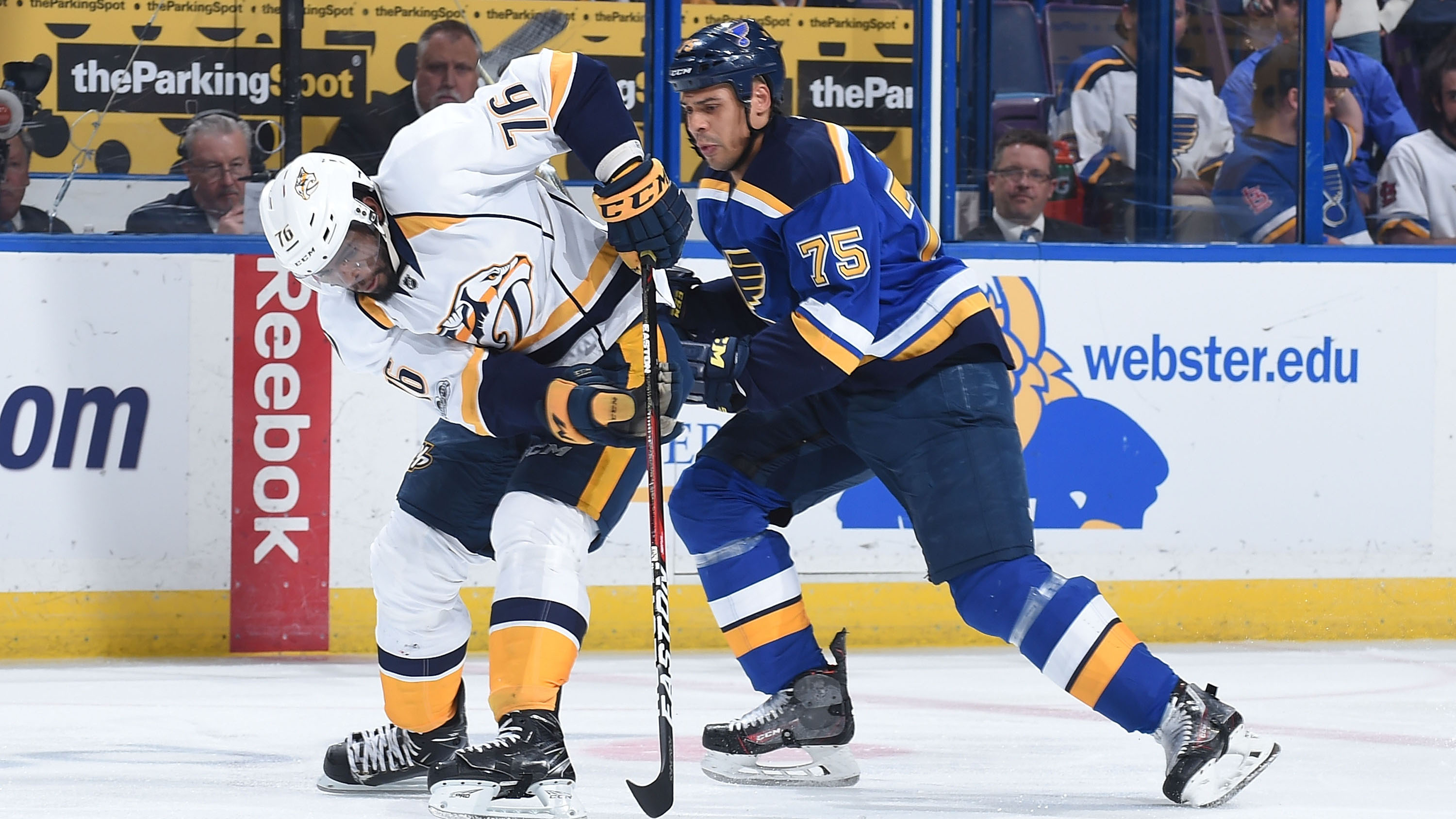 Nashville Predators v St Louis Blues – Game One