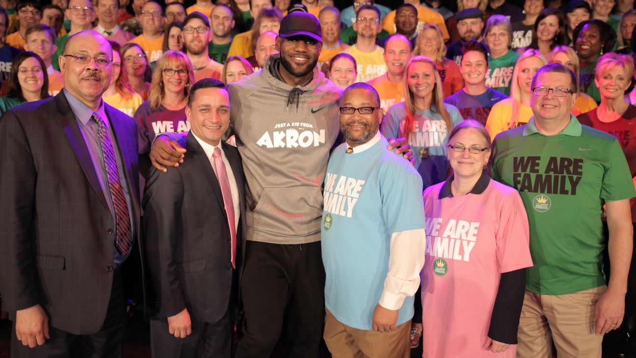 LeBron James Family Foundation and