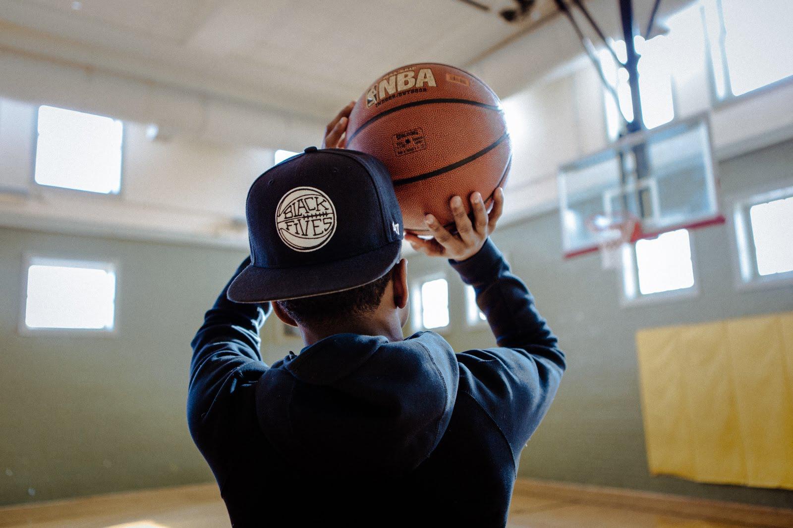 08439e2987f5b Black Fives baseball caps honor basketball pioneers