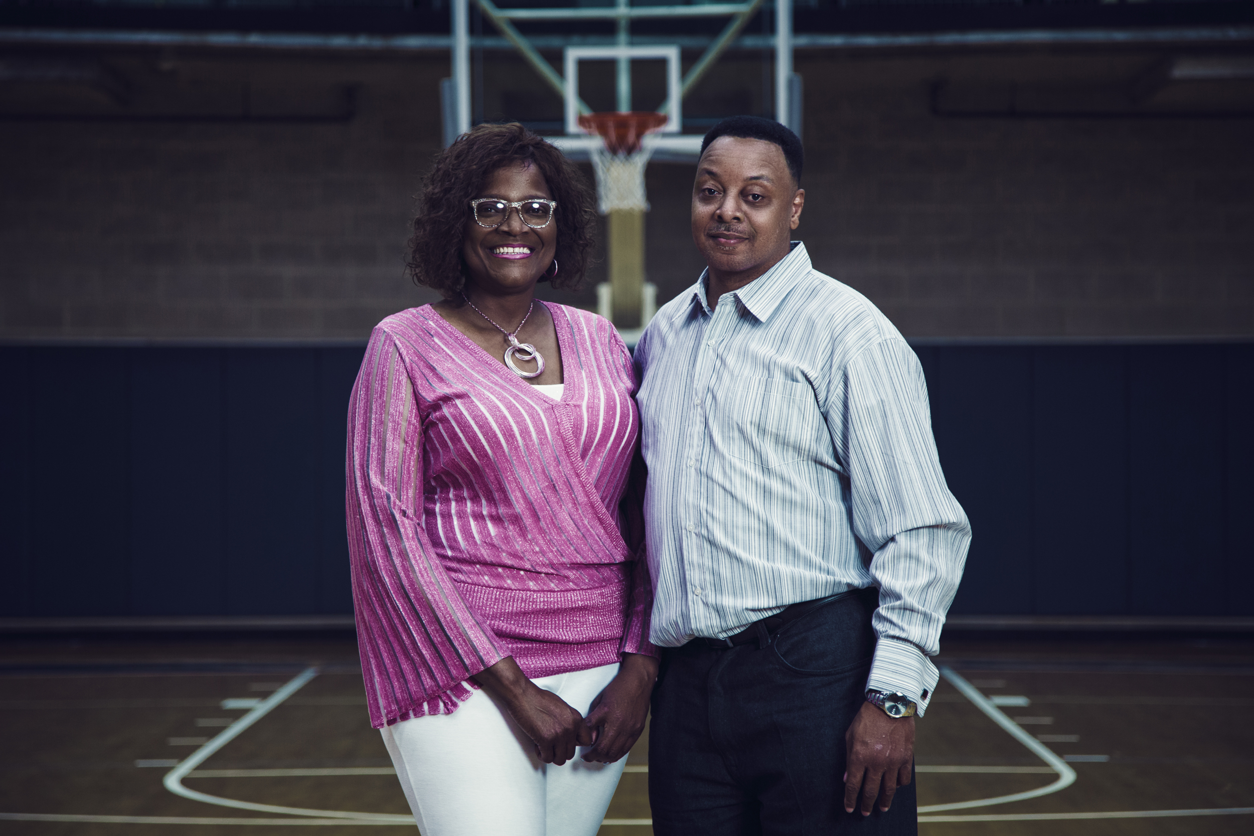 3b42a2115c88 Kylia and Wendell Carter Sr. are the parents of Duke signee Wendell Carter  Jr.