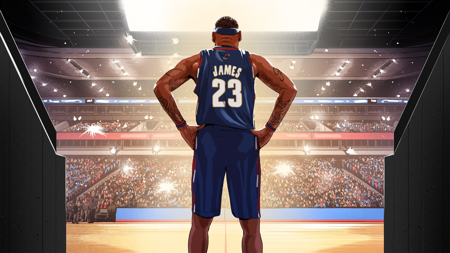 7f6da9e72 The King is crowned  the true and actual arrival of LeBron James