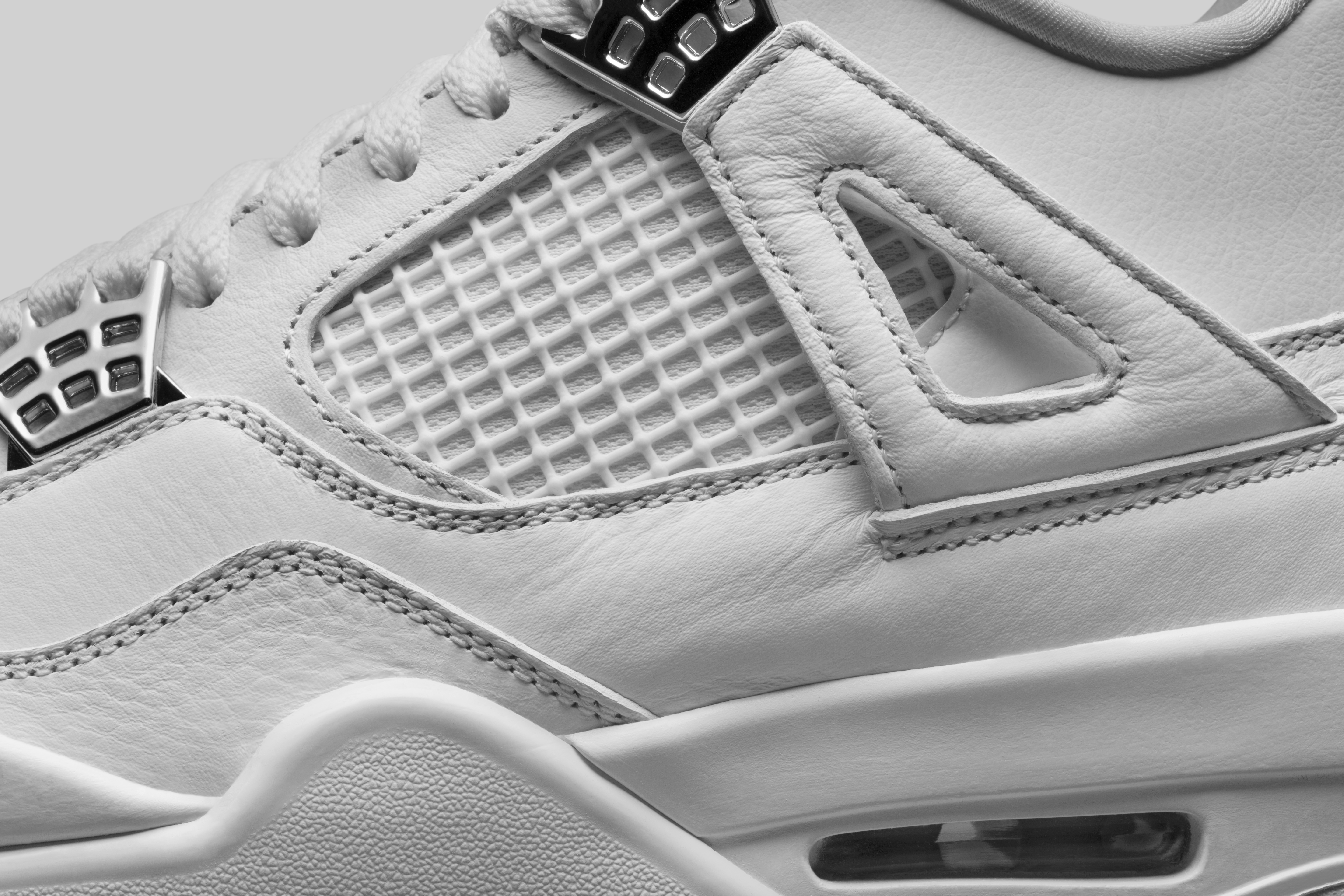 f51db0da1 They re also the simplest  an all-white colorway accented with platinum  eyelets. When you think of all-white kicks that are essential every time  summer ...