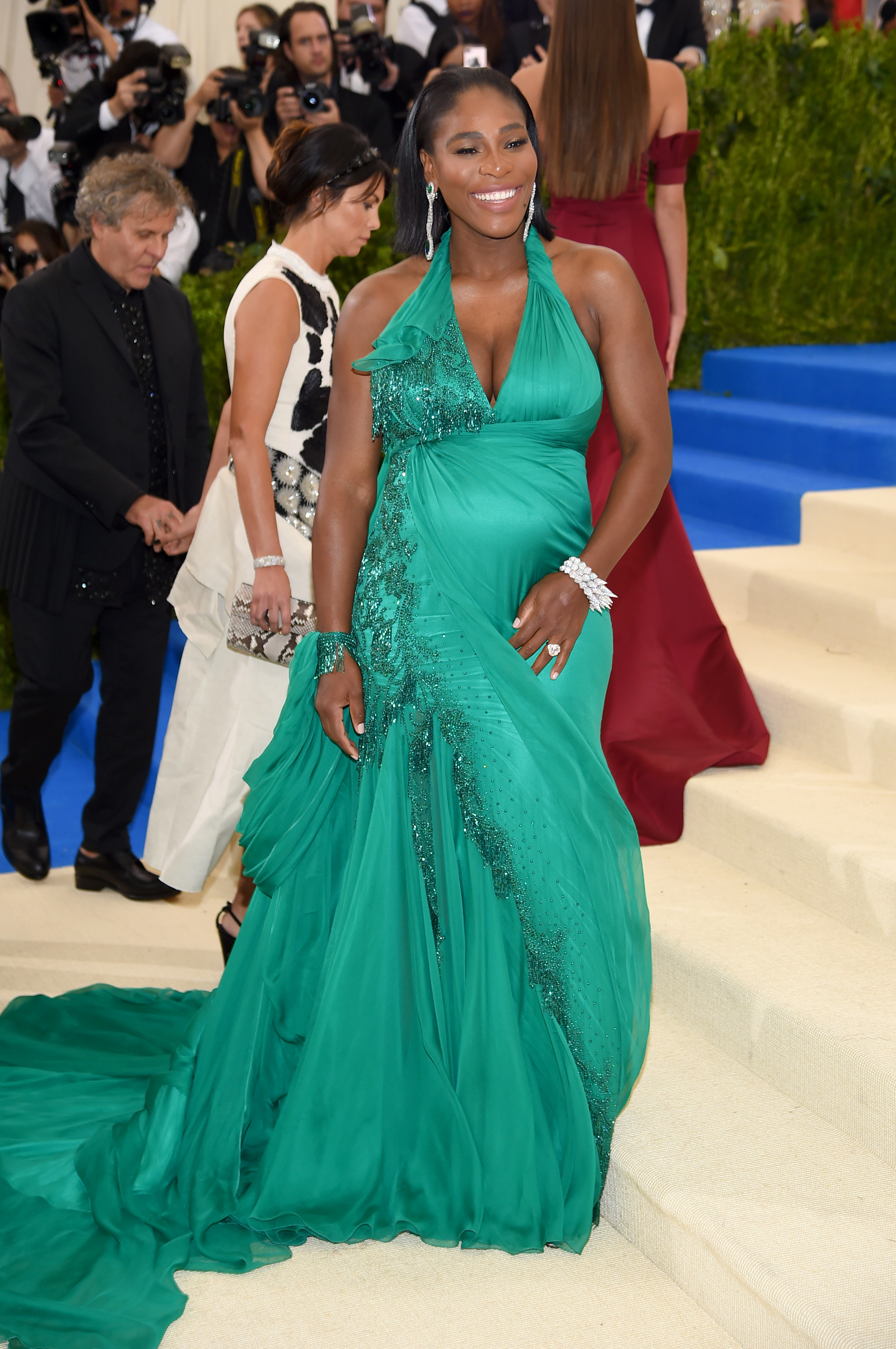 """60c008c22b3d Serena Williams attends the """"Rei Kawakubo/Comme des Garcons: Art Of The  In-Between"""" Costume Institute Gala at Metropolitan Museum of Art on May 1,  ..."""