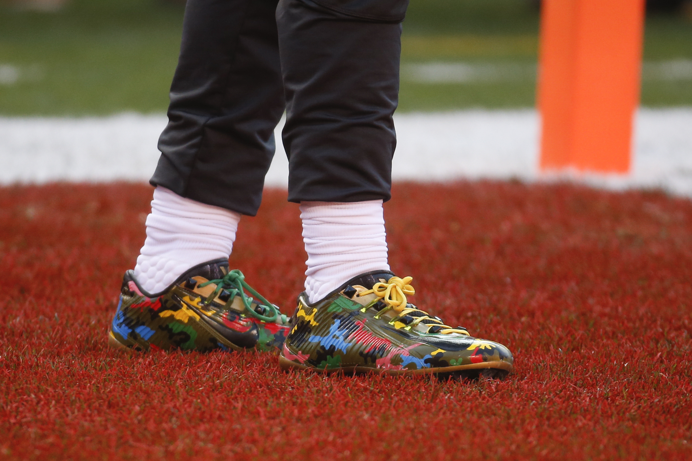 A power ranking of Odell Beckham Jr.\'s custom cleats from the 2016 ...