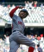 APTOPIX Red Sox Brewers Baseball
