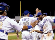 APTOPIX Orioles Royals Baseball