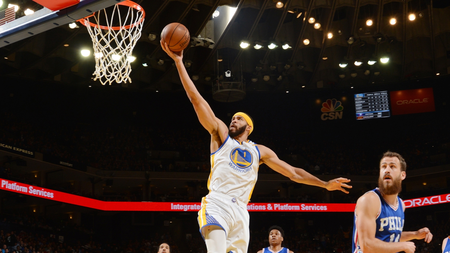 154b0defe8f4 JaVale McGee is a breakout star for Golden State Warriors in NBA playoffs