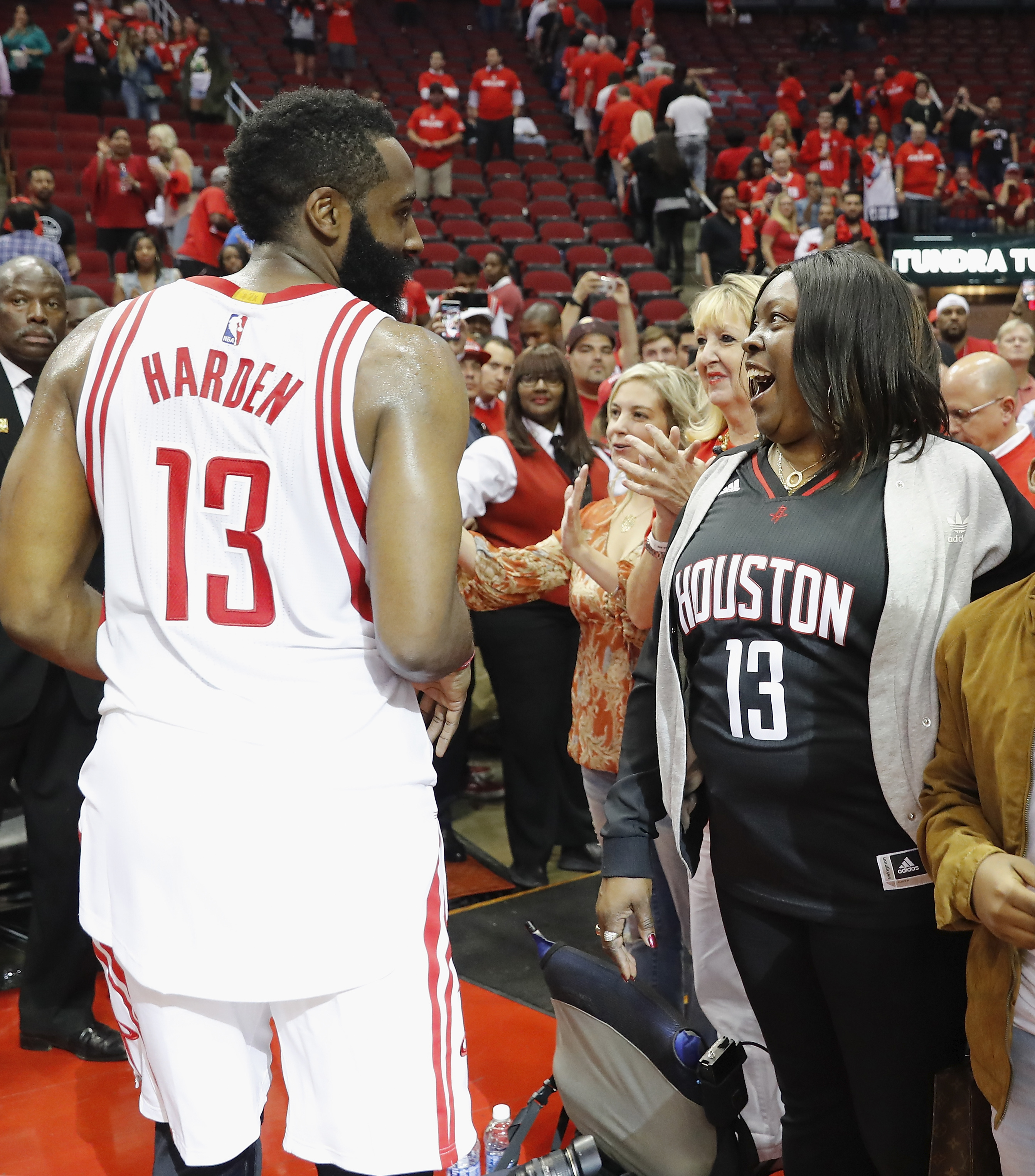 Rockets' James Harden And His Mom On How Sports Shaped The