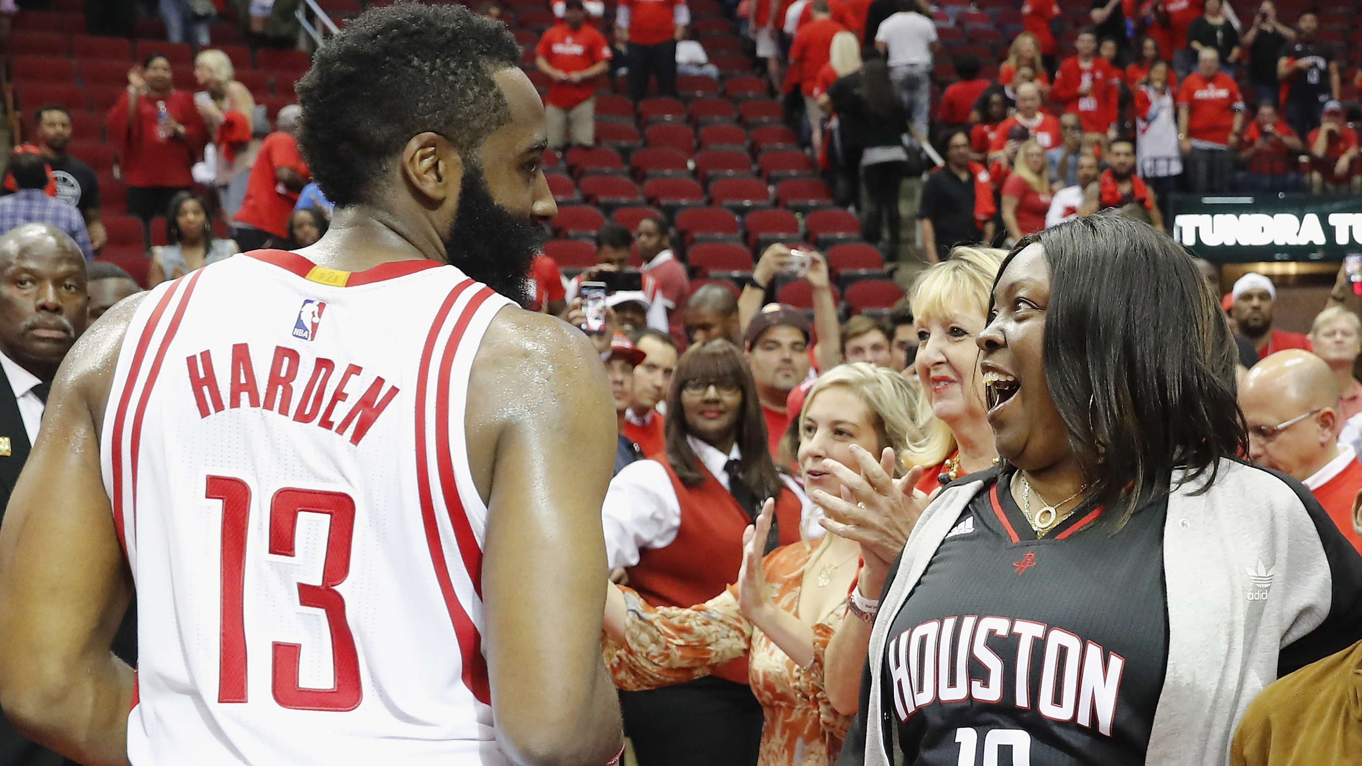 681279c8e036 Rockets  James Harden and his mom on how sports shaped the MVP candidate