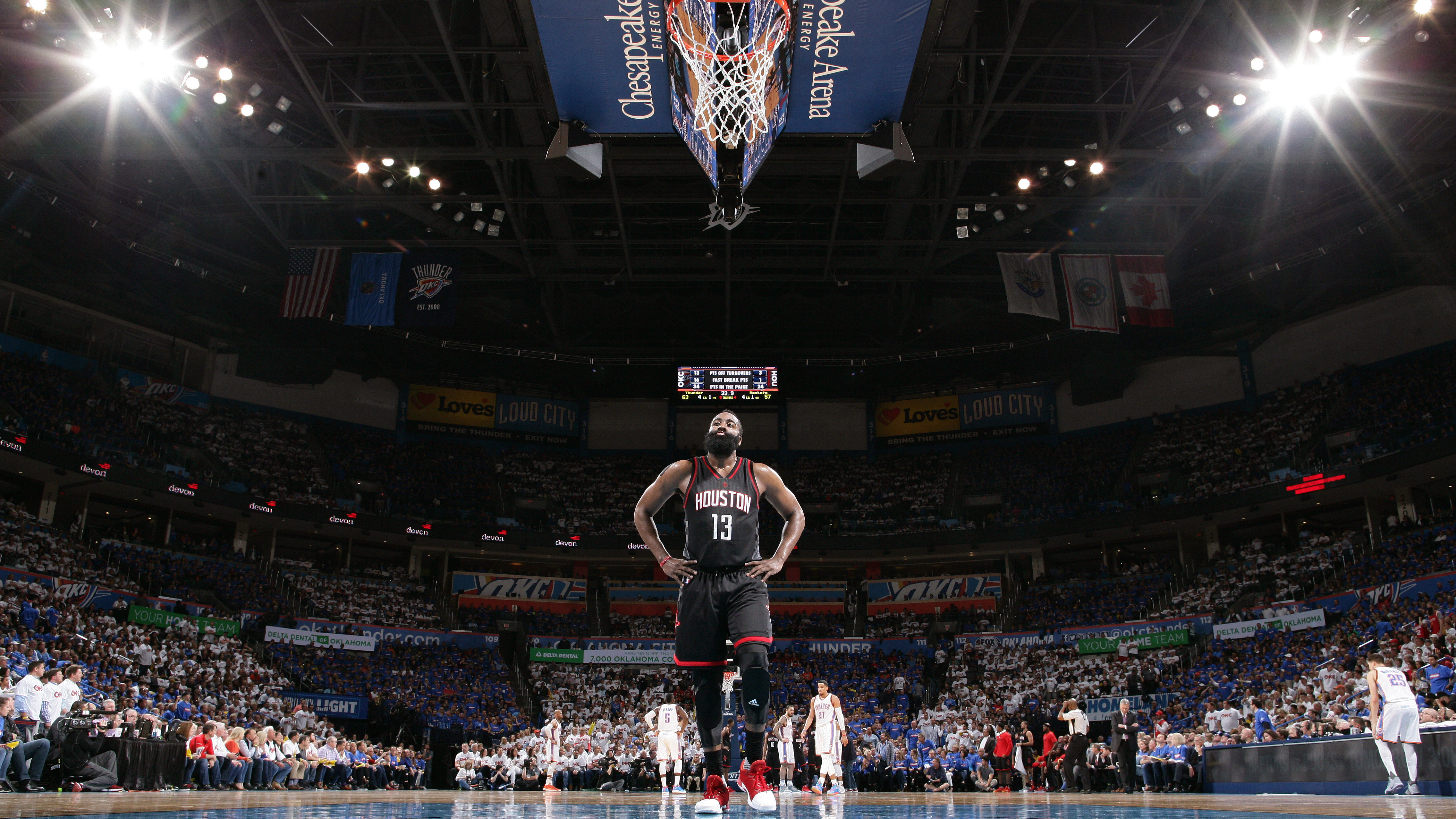 Houston Rockets v Oklahoma City Thunder – Game Three