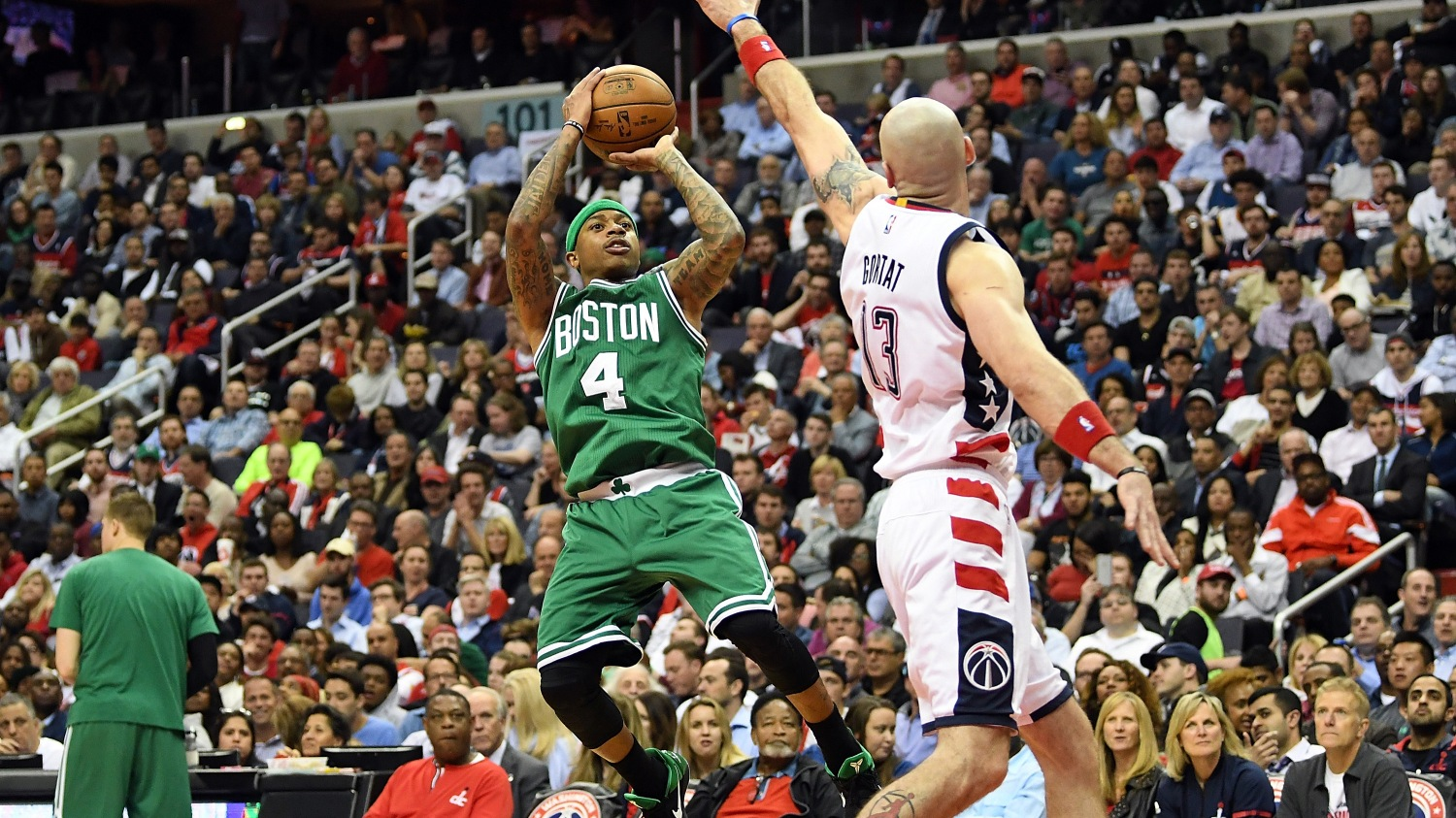 811e51bfa Celtics' Isaiah Thomas is ready for whatever the Wizards throw at him