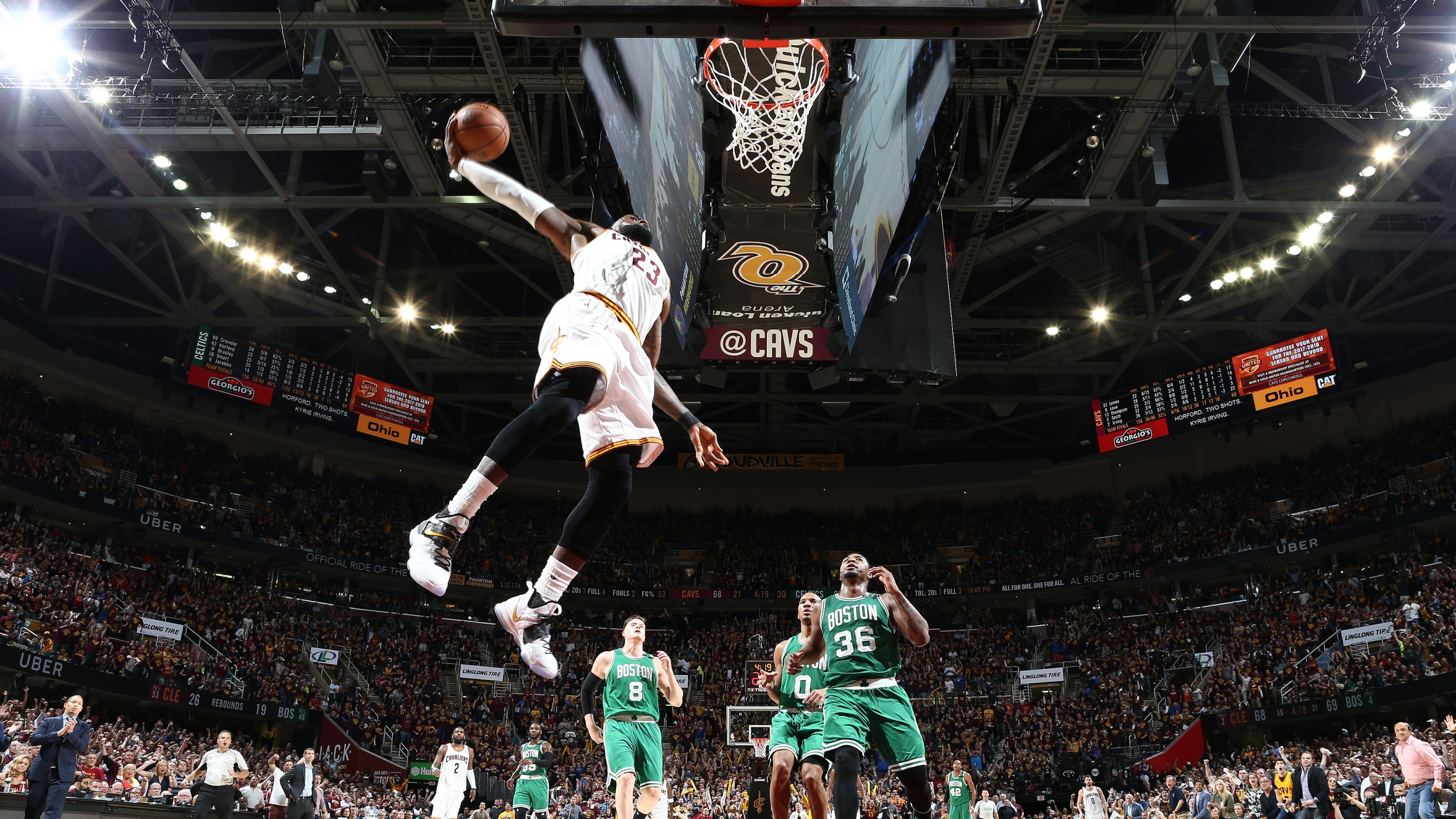 2d1f49353cb0 LeBron James misses dunk in Game 4